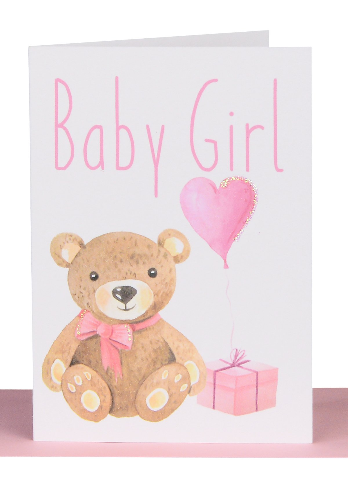 Greeting card baby girl card lils wholesale handmade cards greeting card kristyandbryce Images