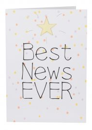 Best News Ever Large Card