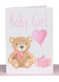 Wholesale Baby girl Card