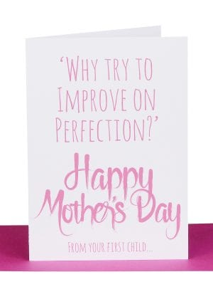 Funny mothers day card
