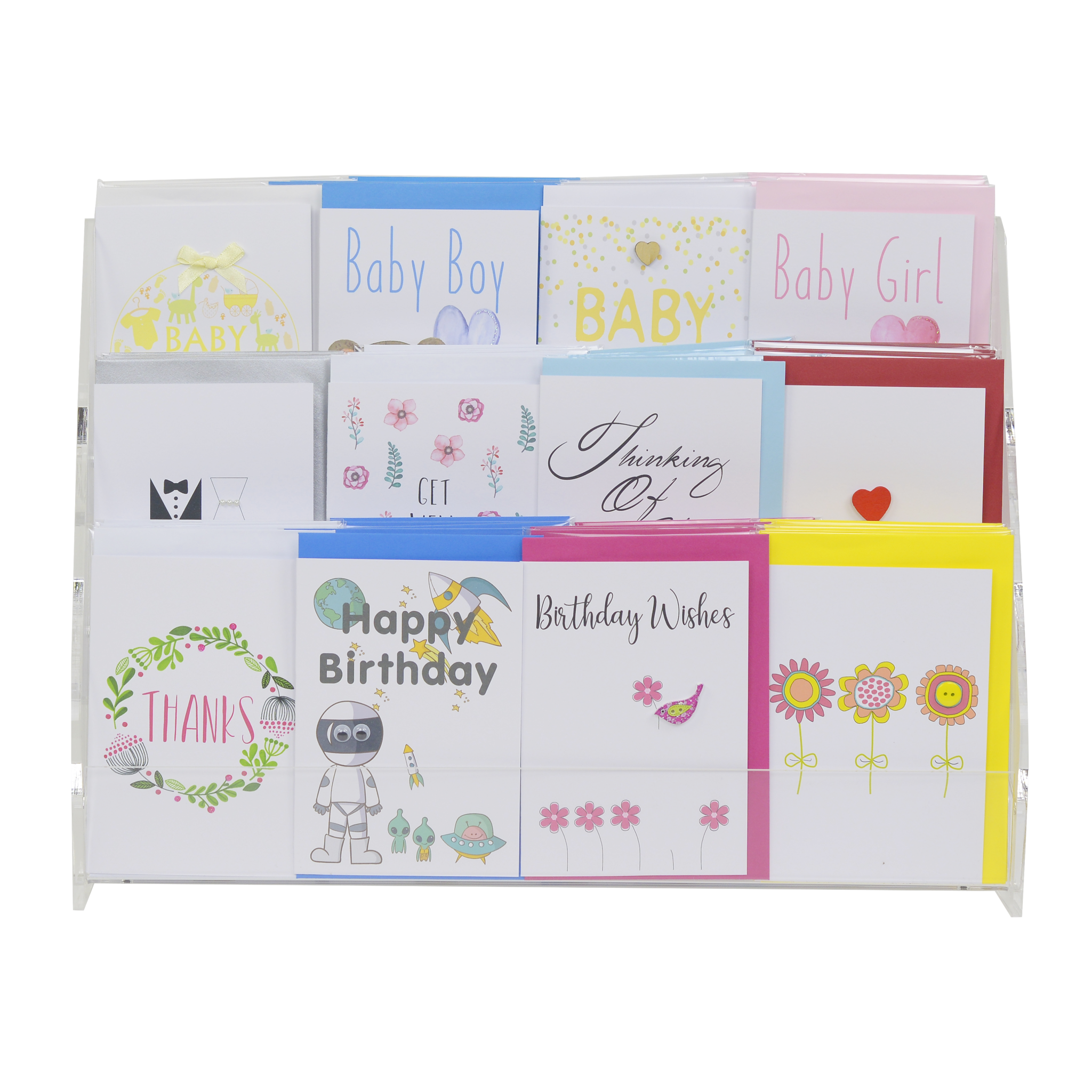 Card Display Stand 3 Tiered Stand Lils Cards