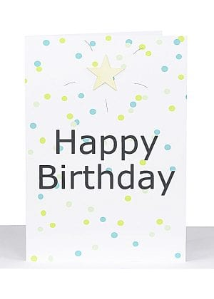 Happy Birthday Large A4 Card
