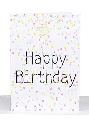 Birthday Large A4 Card