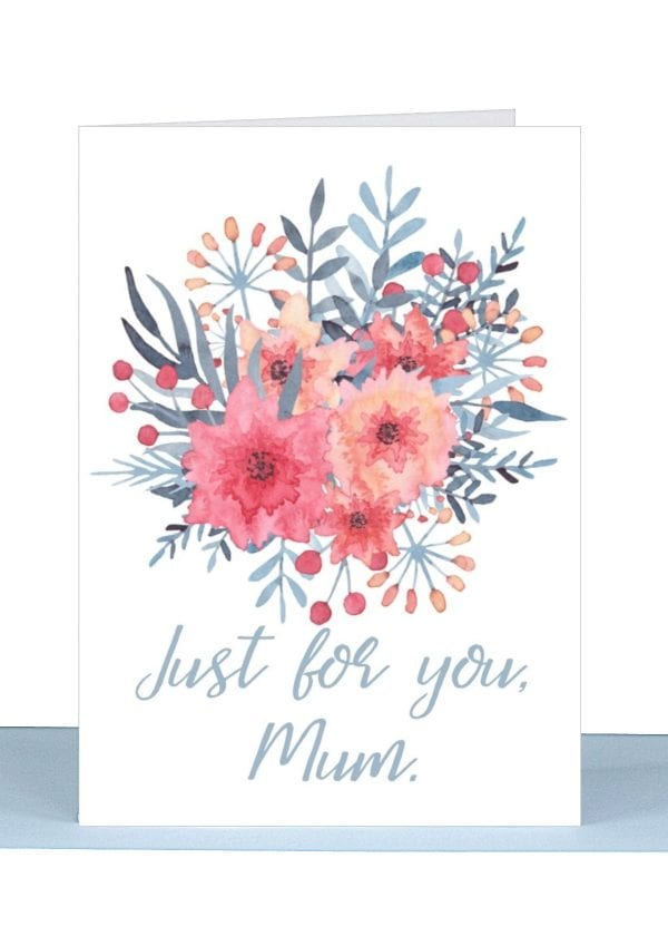 A greeting card for your Mum