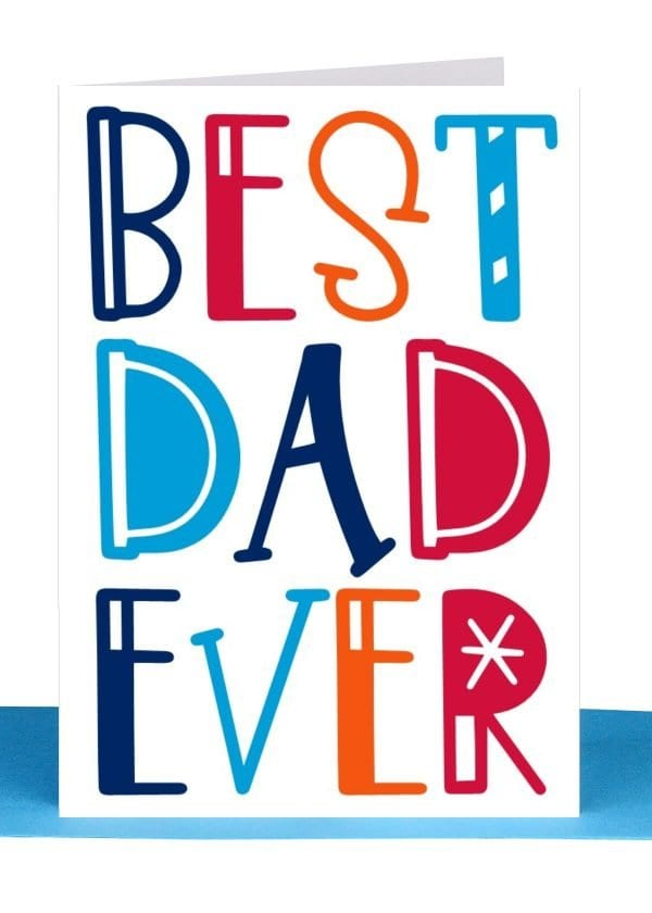 Best Dad ever Greeting Card