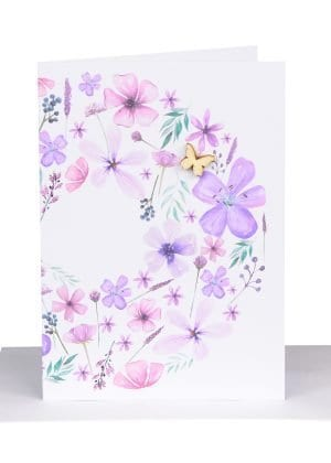Florist Gift card purple