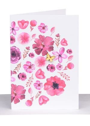 Florist Gift Card Red