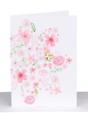 Pink Florist Gift Card