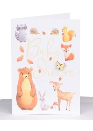 Australian made gift card for a baby shower
