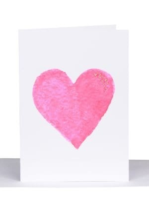 big heart greeting card australian made love lils cards