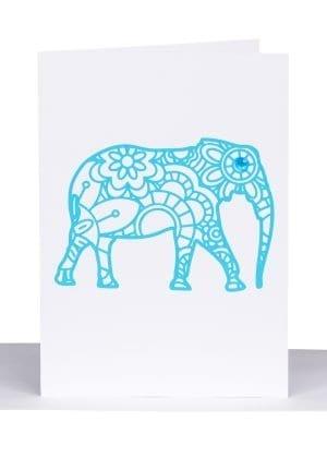 elephant greeting card