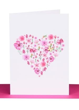 Floral Butterfly Cards