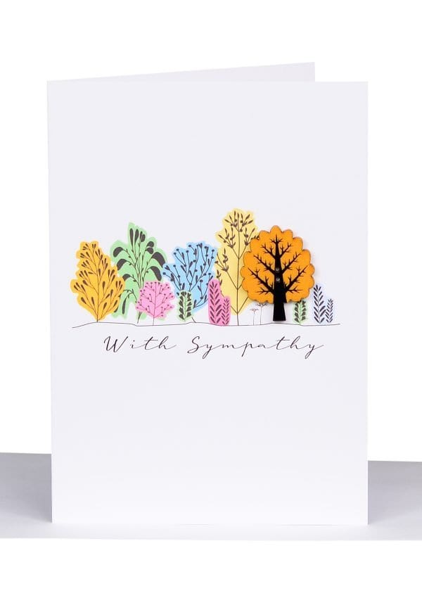 Australian Made WIth Sympathy Card