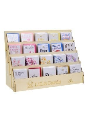 Lils Cards Australian made cards gift card stand and cards package