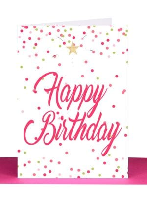 Wholesale happy birthday greeting card australian made
