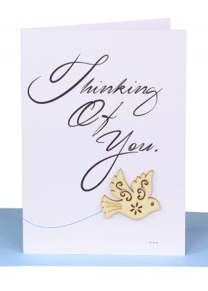 Sympathy Greeting Card Dove