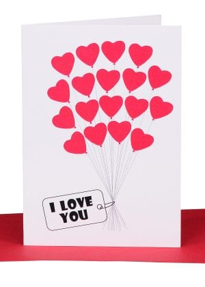Valentines gift card australian made lils cards