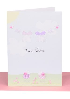 Twin Girls Gift Card