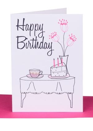 birthday gift card - australian made cards