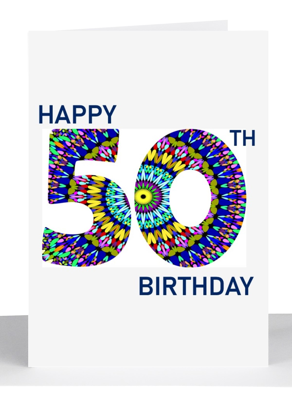 Birthday Greeting Cards Numbers