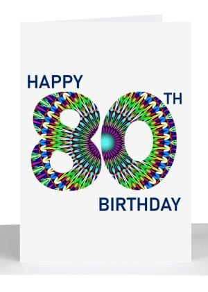 happy 80th birthday card