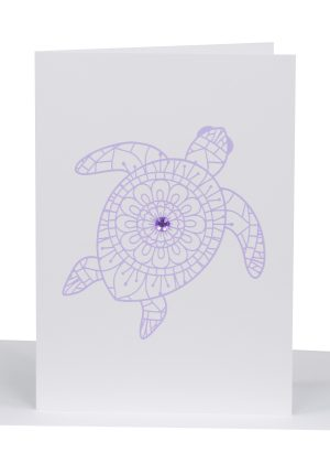 Greeting Card turtle - Lil's Cards - australian made cards